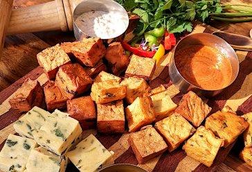 # Snackwürfel mit Chutneys